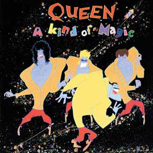 Queen-A Kind Of Magic Lyrics (1986)