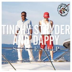 Tinchy Stryder - Spaceship Lyrics (feat. Dappy)