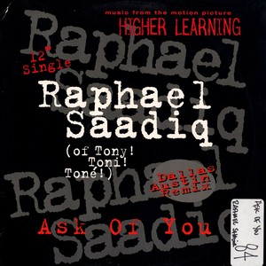 Raphael Saadiq - Ask Of You Lyrics
