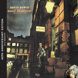 David Bowie - Rise & Fall of Ziggy Stardust (2012) Album Tracklist
