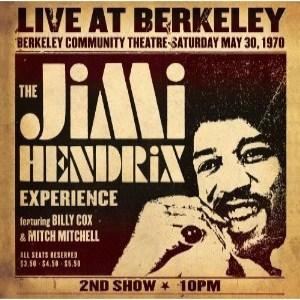 Jimi Hendrix - Jimi Hendrix Experience Live at Berkeley (2012) Album Tracklist